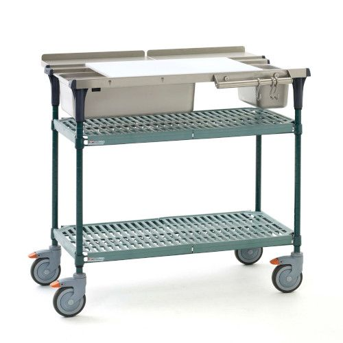 Metro MS1836-PRPR PrepMate® 18X36 Multistation Mobile Prep Cart