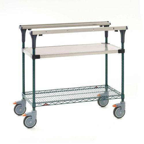 Metro MS1848-FSNK PrepMate® 18X48 Multistation Mobile Prep Cart