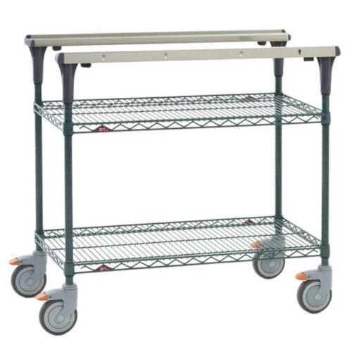Metro MS1848-NKNK PrepMate® 18X48 Multistation Mobile Prep Cart