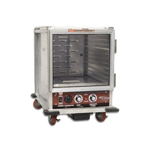 Winholt NHPL-1810/HHC Mobile Half-Height Non-Insulated Heater / Proofer Cabinet