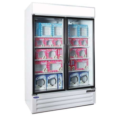 Nor-Lake NLGFP48-HG-W Swing Door Merchandiser Freezer