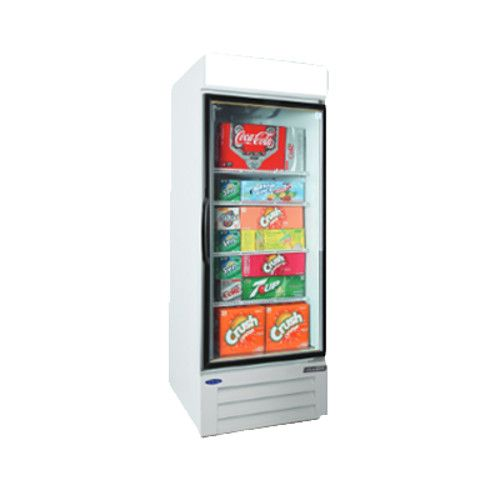Nor-Lake NLGRP23-HG-W Swing Door Merchandiser Refrigerator