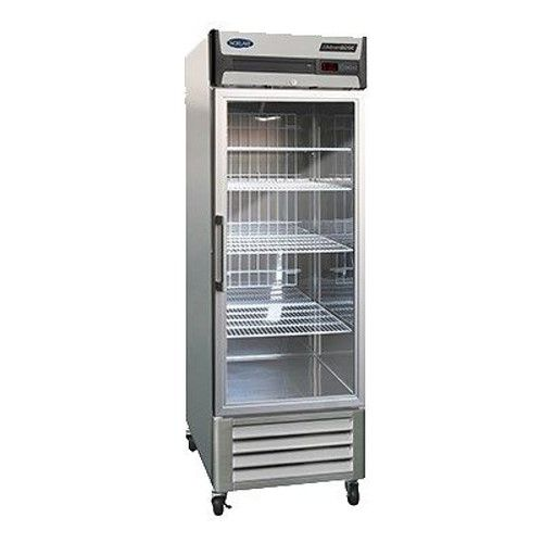 Nor-Lake NLR23-G Glass Door Single Section Reach-In Refrigerator