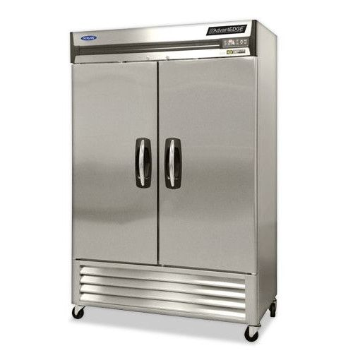 Nor-Lake NLF49-SH Two Section Half-Door Reach-In Freezer