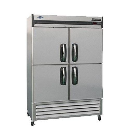 Nor-Lake NLR49-SH Two Section Half-Door Reach-In Refrigerator