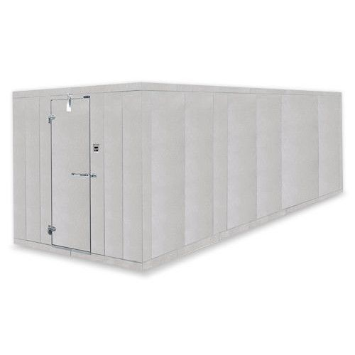Nor-Lake Fast Trak Remote Outdoor Walk-In Cooler-Freezer Combo 6' x 12' x 7'-7
