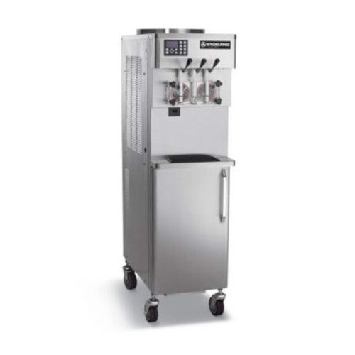 Stoelting O431-18I-RC Water Cooled Soft-Serve Freezer with Rear Opening Refrigerated Cabinet