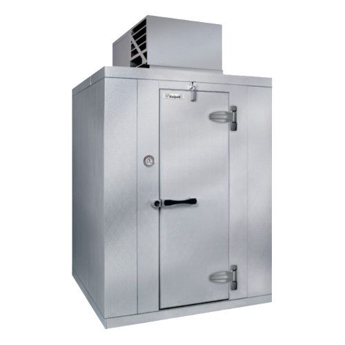Kolpak PX6-064-CT-OA Polar Pak Floorless Outdoor Walk-In Cooler 6'-6.25