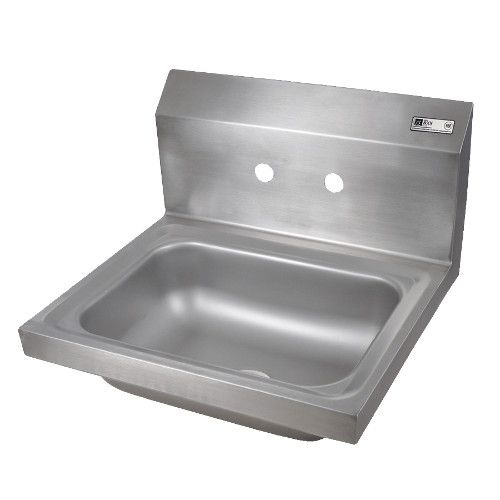 John Boos PBHS-W-1410-4D Wall Mount Pro-Bowl Hand Sink with 3-1/2