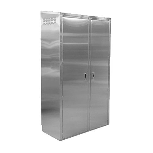 John Boos PBJC-4884-L Fully Enclosed Janitor Cabinet