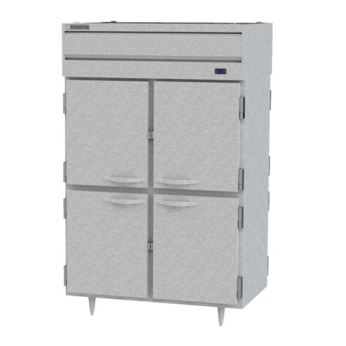 Beverage Air PH2-1HS-PT Pass-Thru Reach-In 2 Section Warming Cabinet