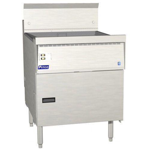 Pitco FBG24 Flat Bottom Gas Fryer with 57-87 lb. Capacity