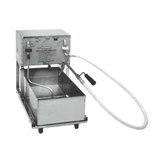 Pitco RP18 Portable Fryer Filter with Reversible Pump - 75 lb. Capacity