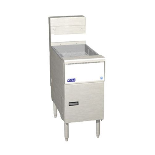 Pitco SSH-BNB-18 Bread & Batter Cabinet - Dump Station for SSH18 Gas Fryers