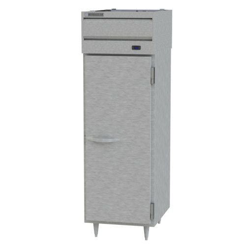 Beverage Air PRD1HC-1AS Prestige Plus 1 Section Solid Door Pass-Thru Refrigerator