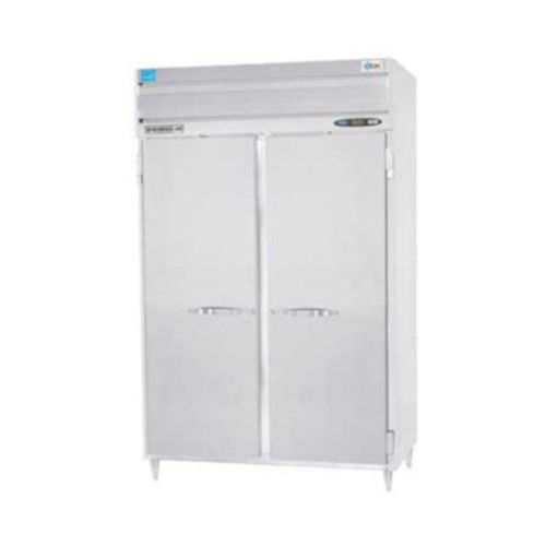 Beverage Air PRF24HC-24-1AS02 Solid Door Two Section Dual Temp Refrigerator Freezer