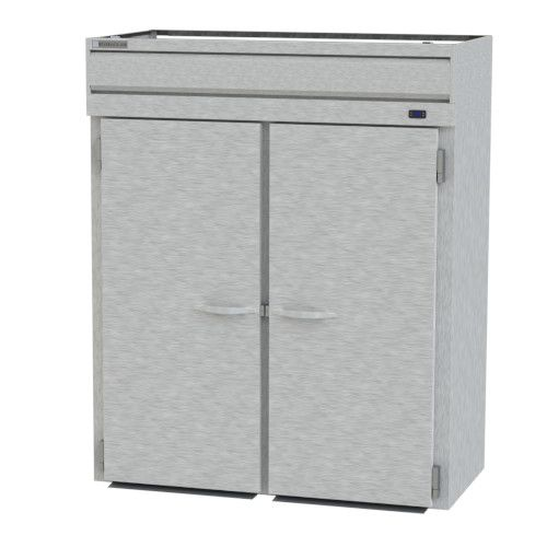 Beverage Air PRI2-1AS Two Section Roll-In Refrigerator