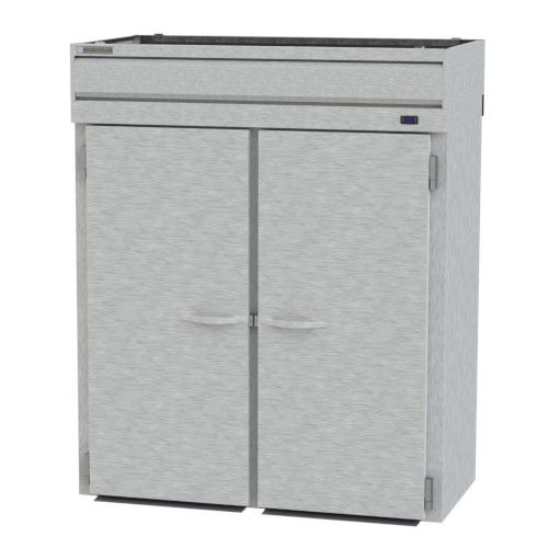 Beverage Air PRT2HC-1AS Roll-Thru 2 Section Prestige Plus Refrigerator