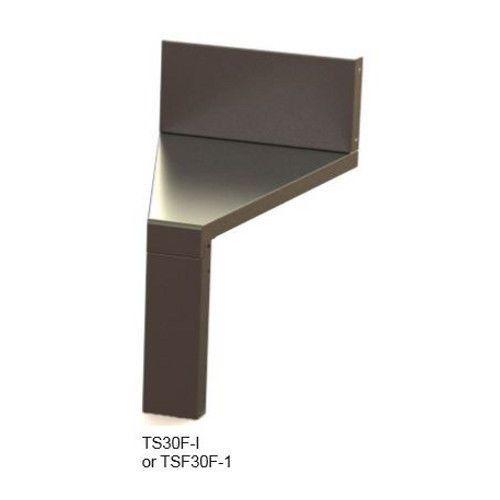 Perlick TS25F-O Outside 25° Angle Flat Top Corner Filler