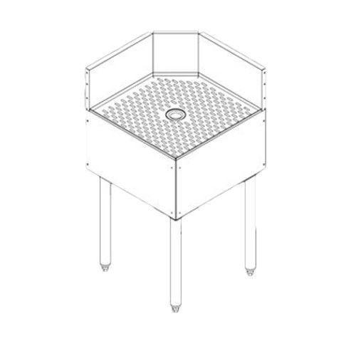Perlick TSF90TC Underbar Corner 90° Inside Full Angle Filler