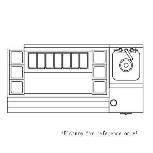 Perlick UCS60B-LF 60