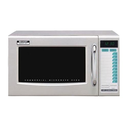 Sharp R-21LTF 1000 Watt Microwave Oven with 3-Stage Cooking