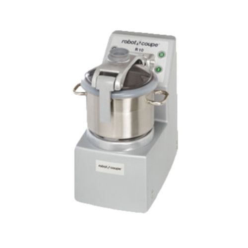 Robot Coupe R10 Vertical Food Processor with 10 Qt. Stainless Steel Bowl