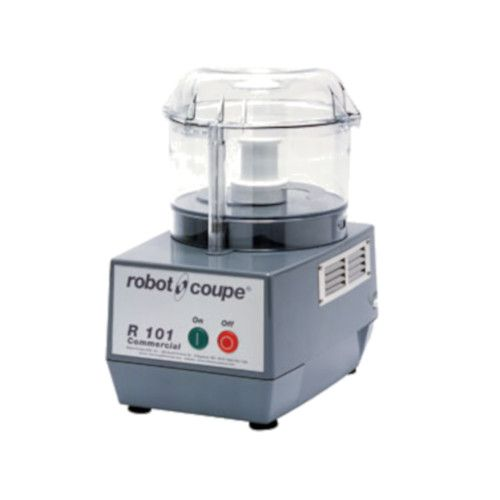 Robot Coupe R101BCLR Commercial Food Processor with 2.5 Quart Clear Bowl