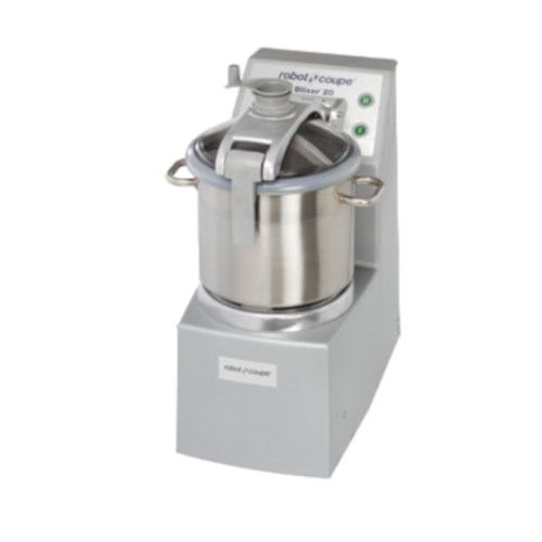 Robot Coupe R 20 Vertical Food Processor with 20 Qt. Stainless Steel Bowl