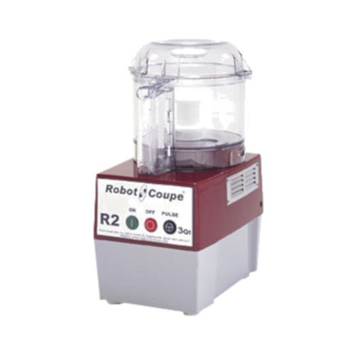 Robot Coupe R2BCLR Food Processor with 3 Qt. Clear Bowl