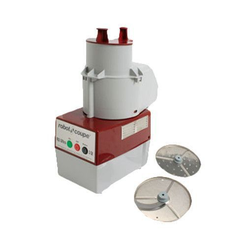 Robot Coupe R2C Continuous Feed Commercial Food Processor with Grating and Slicing Discs - 1725 RPM