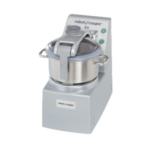 Robot Coupe R8 ULTRA Vertical Food Processor with 8 Qt. and 4 Qt. Stainless Steel Bowls