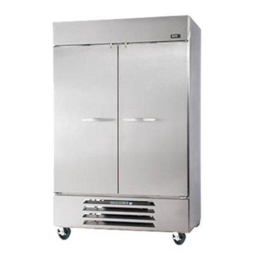 Beverage Air RB49HC-1S Solid Door Two Section Reach-In Refrigerator