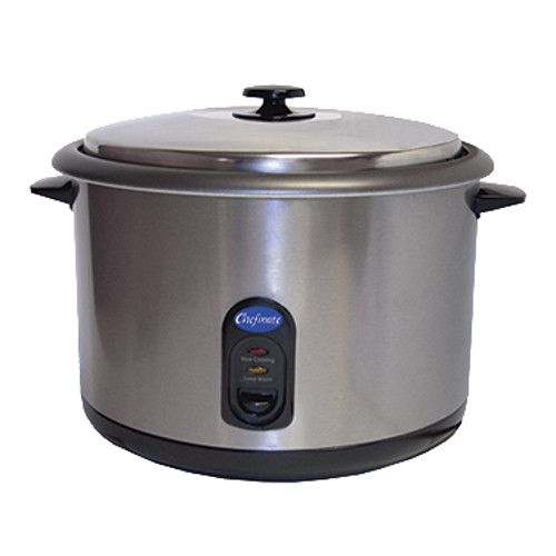 Globe RC1 25 Cup (12.5 Cup Raw) Rice Cooker / Warmer - 1440W