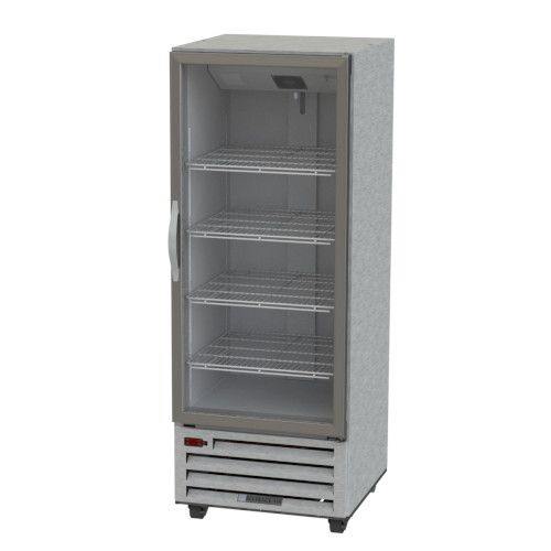 Beverage Air RI18HC-G Glass Door Single Section Reach-In Refrigerator