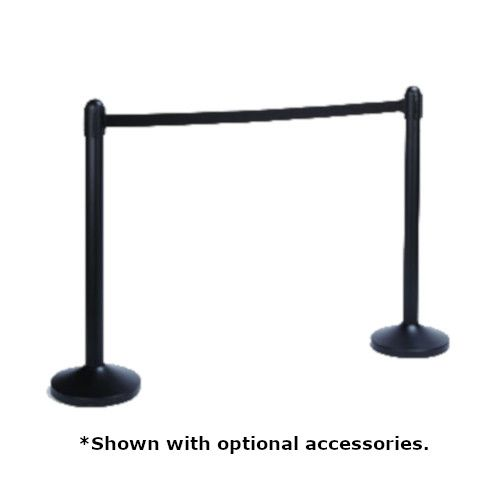 American Metalcraft RSBPBL Portable Barrier Post & Base System
