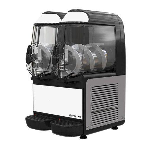 Stoelting SCBF128-37 Countertop Frozen Beverage / Granita Dispenser with (2) 10-Liter Bowls