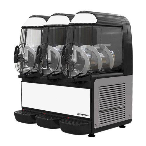 Stoelting SCBF168-37 Countertop Frozen Beverage / Granita Dispenser with (3) 10-Liter Bowls