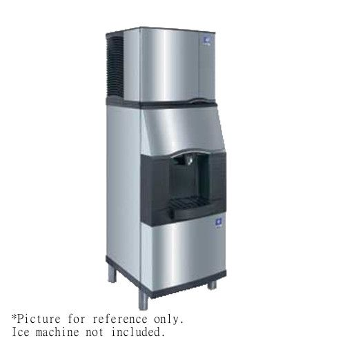 Manitowoc SFA-291 Push Button Floor Vending Ice Dispenser with Built-In Water Valve