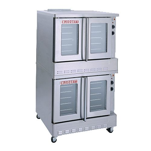 Blodgett SHO-100-G Double Deck Full Size Gas Convection Oven