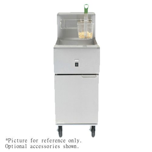 Frymaster SR114E Electric 40 lb Full Pot Fryer with Basket Hanger and Twin Baskets