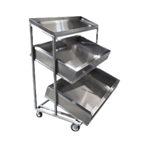 Winholt SSMI2T-4-59/2MLC 3-Tier Insulated Display Merchandising Cart
