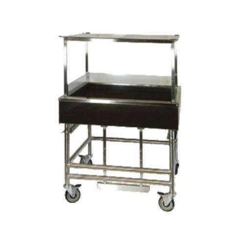 Winholt SSMIT-3636MLC/CAN/ADJ Mobile Adjustable Insulated Display Table