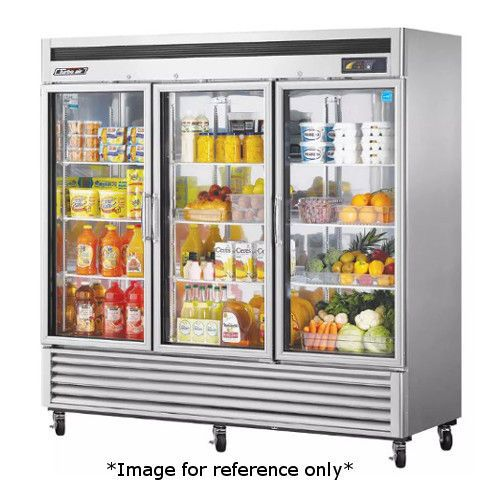 Turbo Air MSR-72G-3 Three Door Glass Door Refrigerator *Returned*