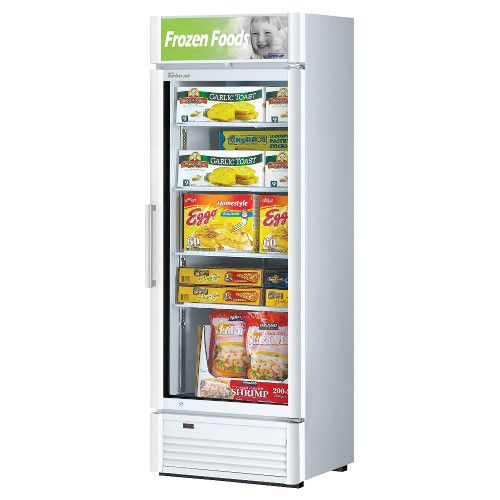 Turbo Air TGF-15SD-N Super Deluxe Single Door Display Freezer