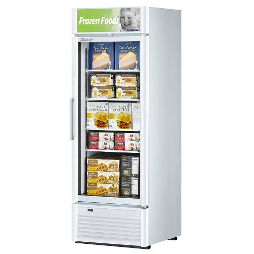 Turbo Air TGF-23SD Super Deluxe Single Door Display Freezer