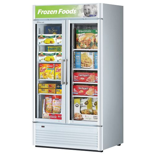 Turbo Air TGF-35SD-N Super Deluxe Two Door Display Freezer