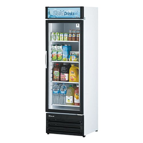 Turbo Air TGM-14RV-N6 Single Glass Door Refrigerated Merchandiser