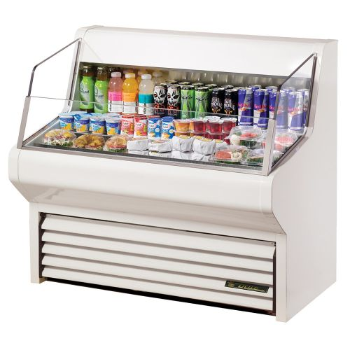 True THAC-48-LD Horizontal Air Curtain Refrigerated Merchandiser 48-1/8