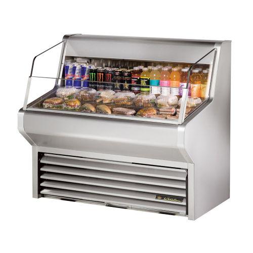 True THAC-48-S-LD Horizontal Air Curtain Refrigerated Merchandiser 48-1/8